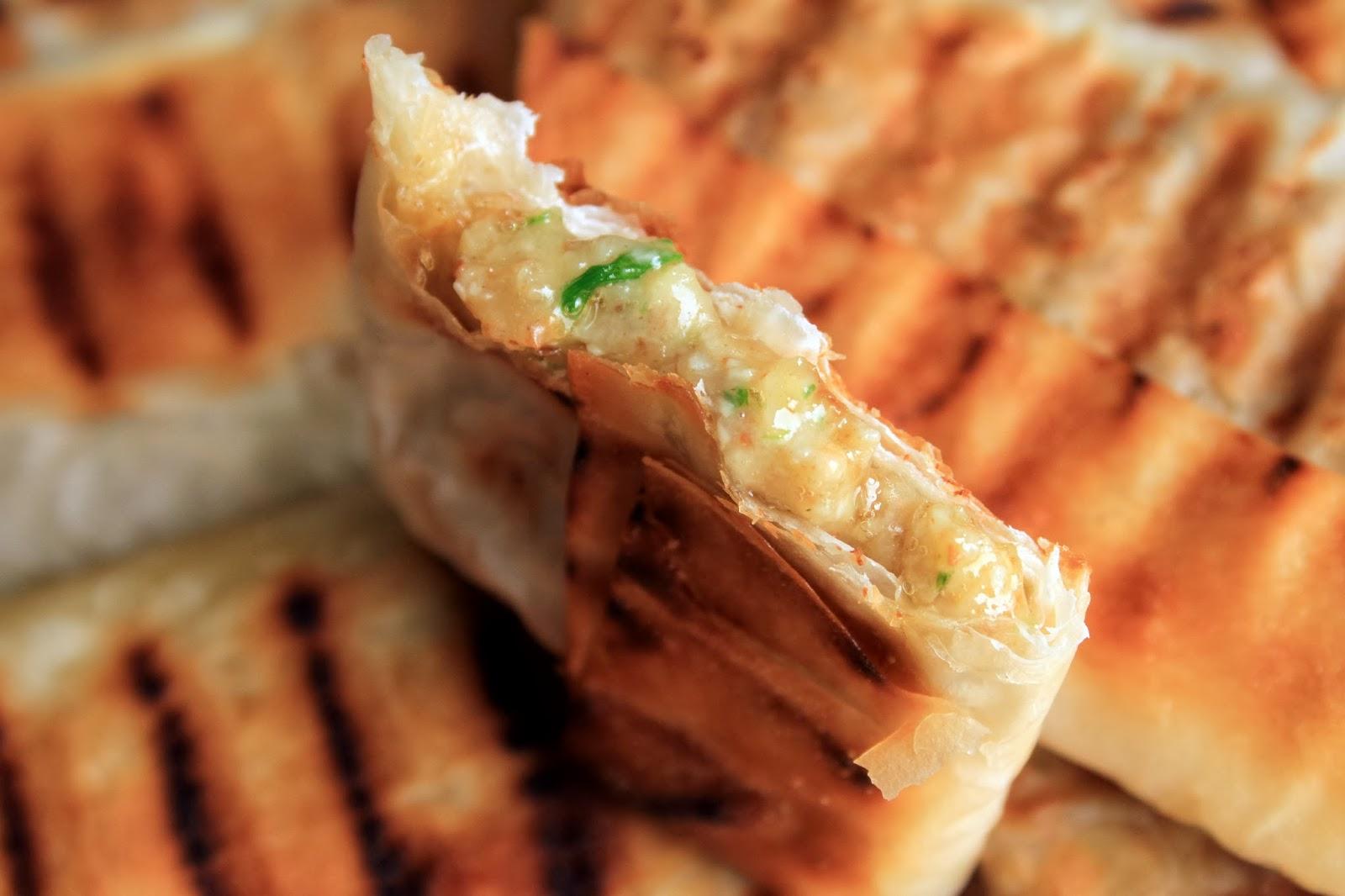 Amapola el mundo en un plato flautas de camembert con - Que hacer con la pasta filo ...
