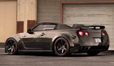 AUTO DEPORTIVO NISSAN GT-R CARRO VERSION ROADSTER