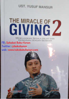 Buku : Miracle of Giving 2 : Ust Yusuf Mansur