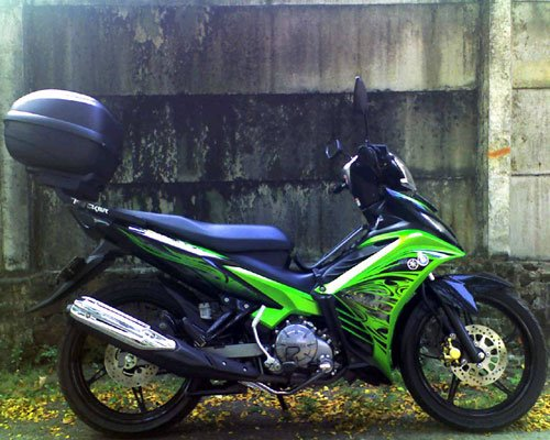 Modifikasi Motor Jupiter Mx Touring   Suzuki Cars