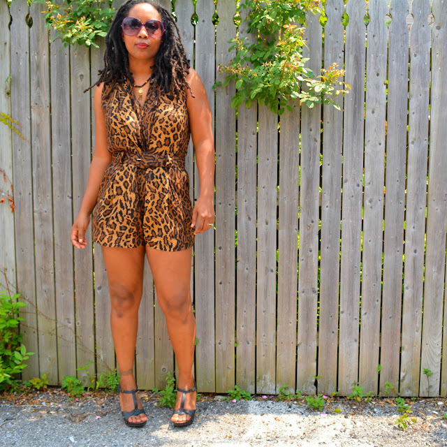 diy a jumpsuit to a romper by cutting pant legs off