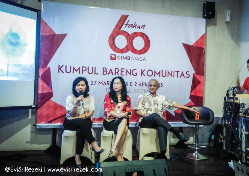 60 Tahun CIMB Niaga Kumpul Bareng Komunitas