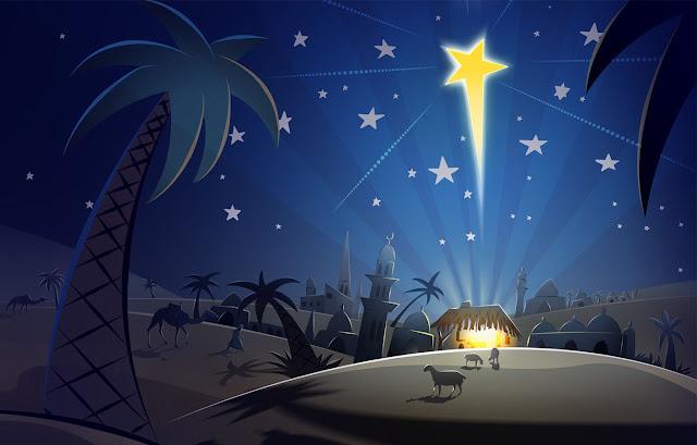 Christmas Art illustration XMAS Width