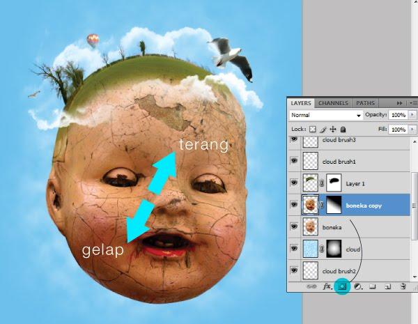 Tutorial Manipulasi Foto Konseptual dengan Photoshop