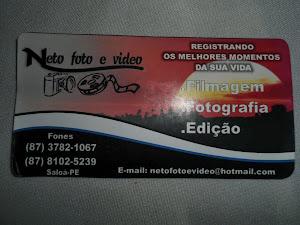 NETO FOTO E VIDEO REGISTRANDO OS MELHORES MOMENTOS DA SUA VIDA