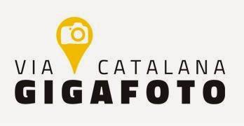 Gigafoto de la Via Catalana cap a la independència