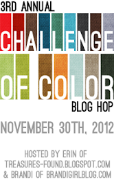 3rd Annual Challenge of Color Hop