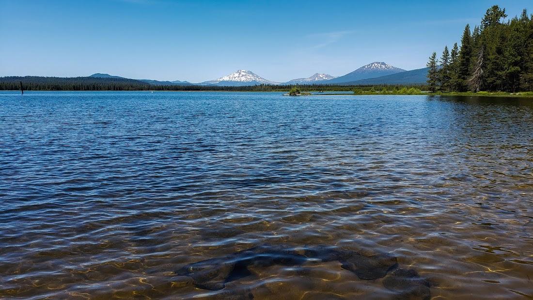 Crane Prairie Reservoir Cascade Lakes
