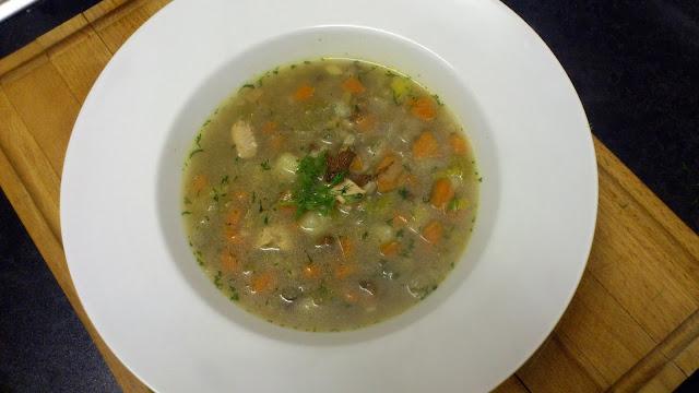 Krupnik  - Polish Barley Soup