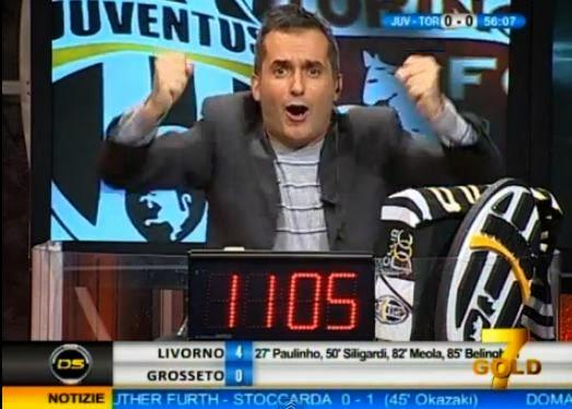 Antonio Paolino Juventus-Torino 3-0