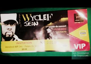 Wyclef à Abidjan