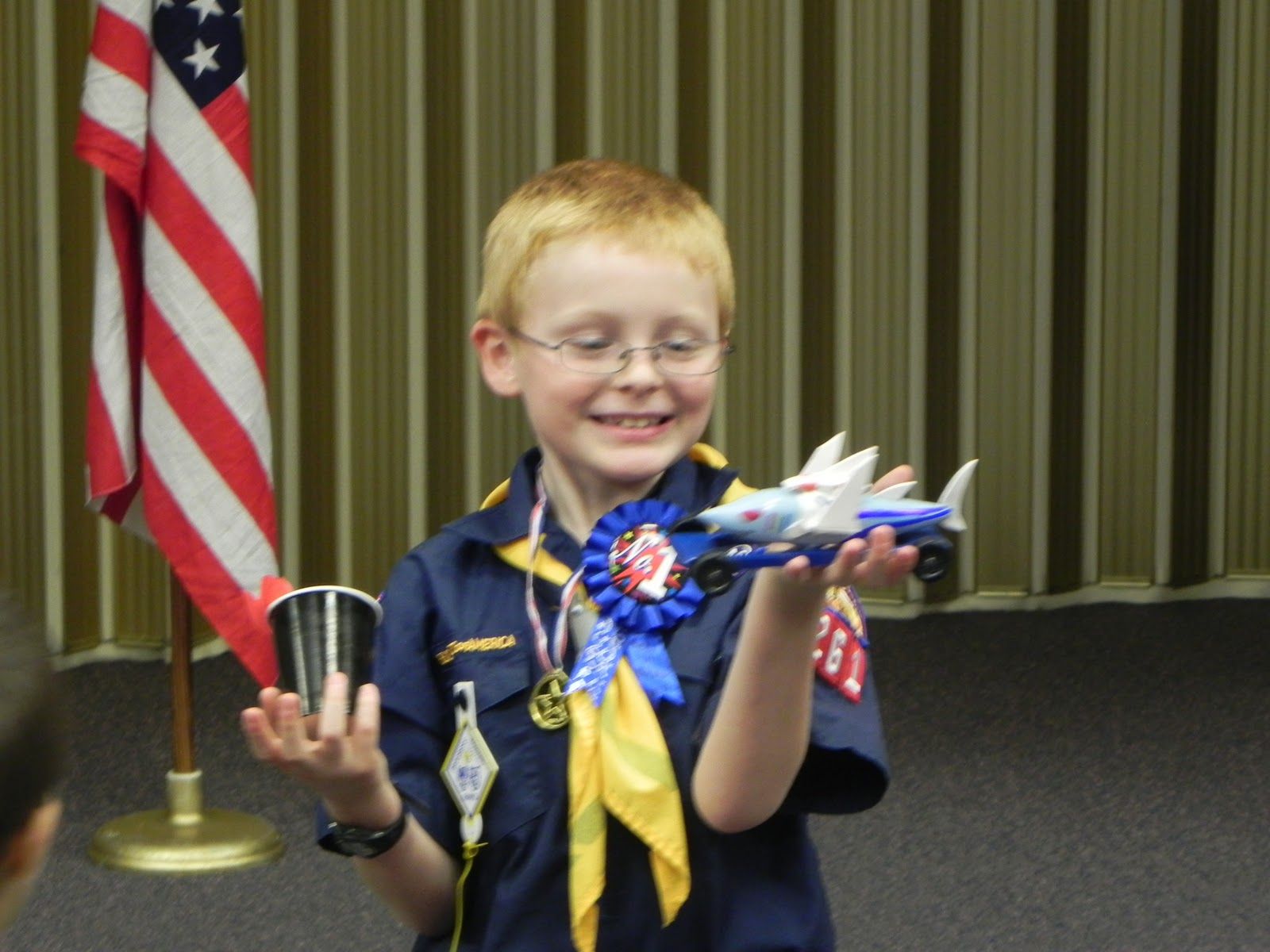 Rabner Family Reader Pinewood Derby