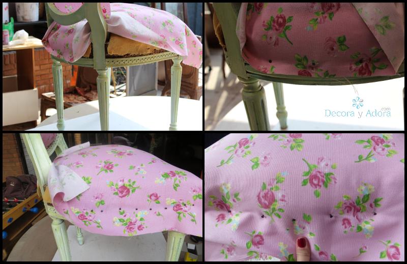 Decora y adora - Como tapizar una silla paso a paso ...