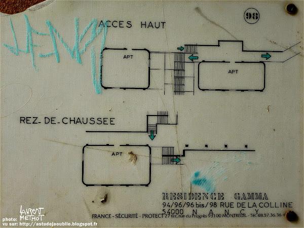 Nancy - Résidence Gamma  Architectes: Agence Parisot, Jacques Mermet  Construction: 1973