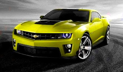 2012 Chevrolet Camaro ZL1 Yellow Color