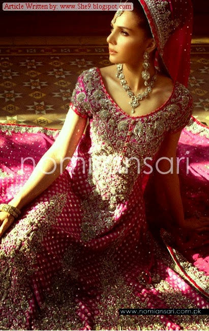 Brides Wear 2015-2016 by Pakistani Designer Nomi Ansari