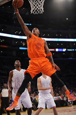Knicks orange uniforms