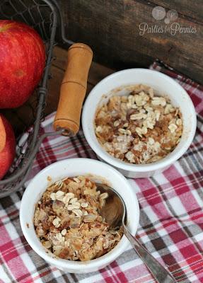 Apple Oatmeal Dessert (Instant Oatmeal)