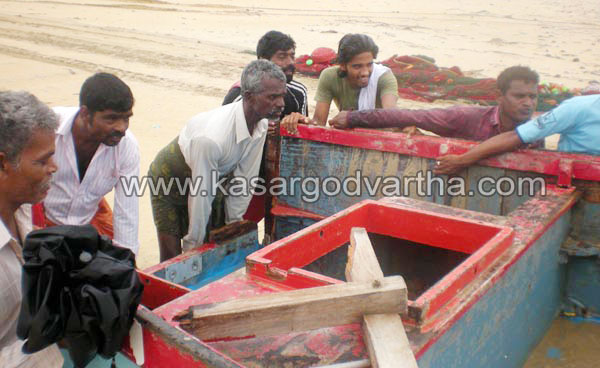 Boat accident in Trikaripur