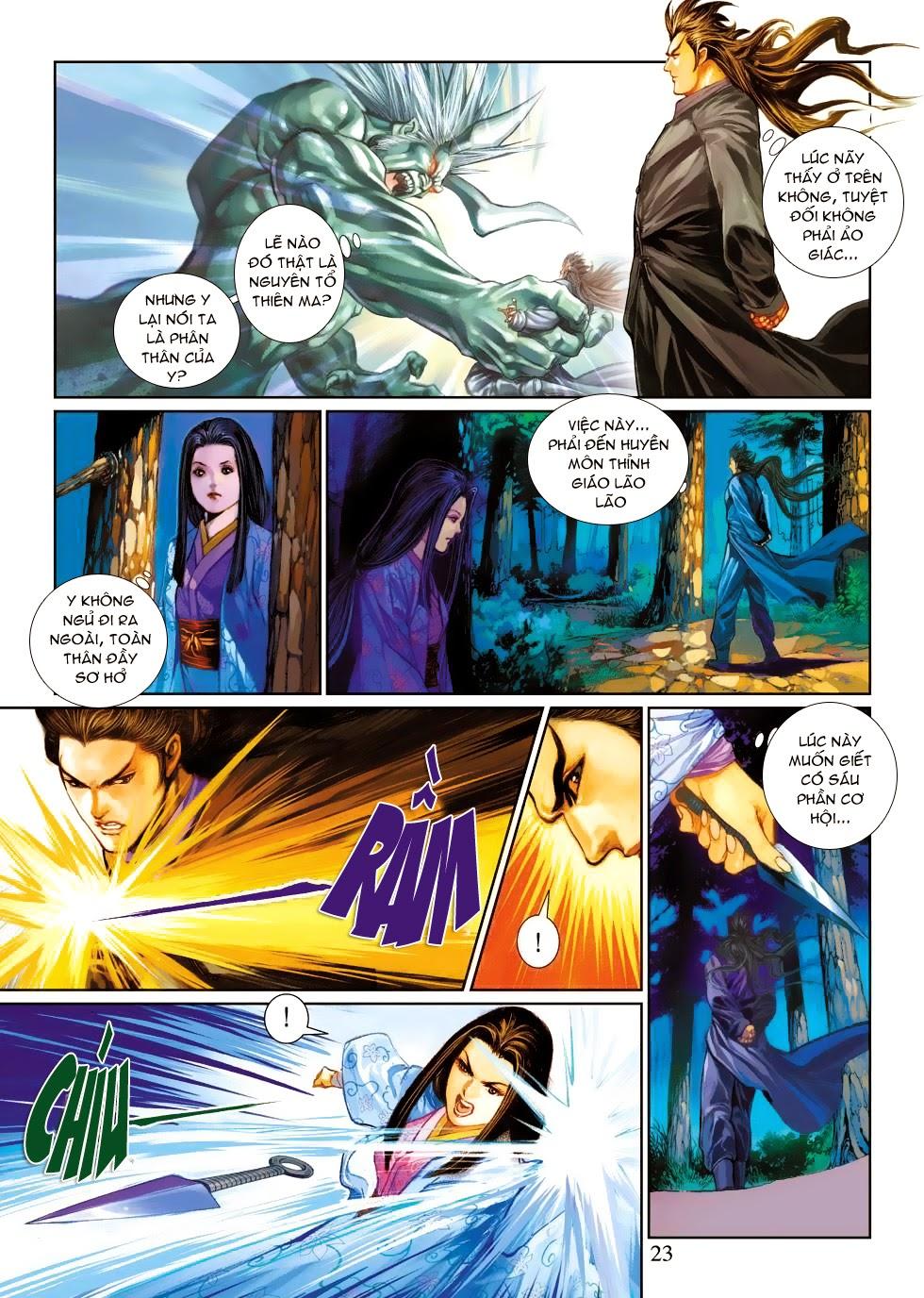 Thần Binh Tiền Truyện 4 - Huyền Thiên Tà Đế chap 3 - Trang 23