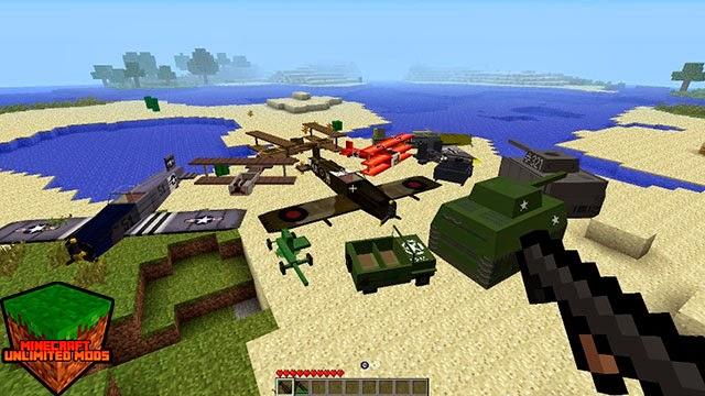 Flan's Mod vehículos de guerra