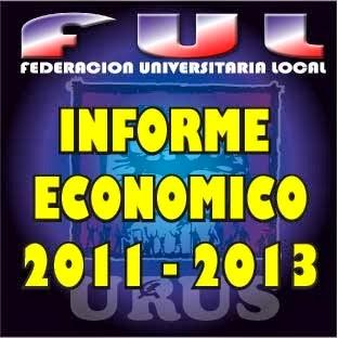 INFORME ECONÓMICO (FUL URUS 2011-2013)