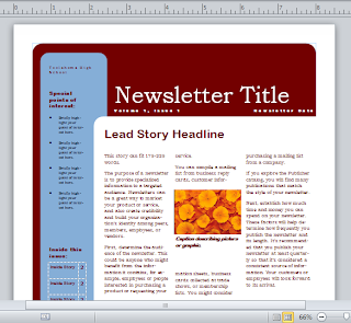 شرح برنامج الناشر لانتاج المطبوعات