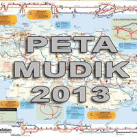 Peta Mudik 2013