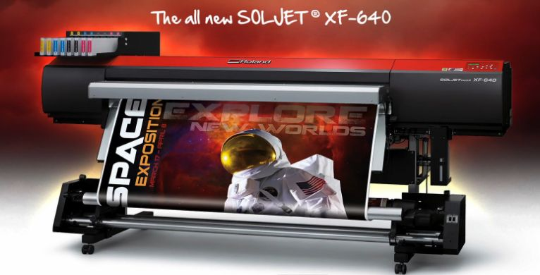 SOLJET XF 640 Is One Of Rolands Most Revolutionary Large Format Digital Printers Up To Date Since 1981 As Worlds Number Provider Wide