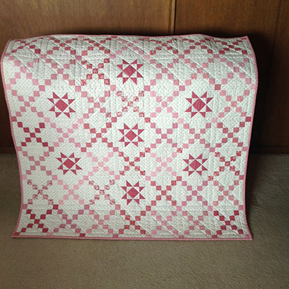 Teaberry Stars Quilt