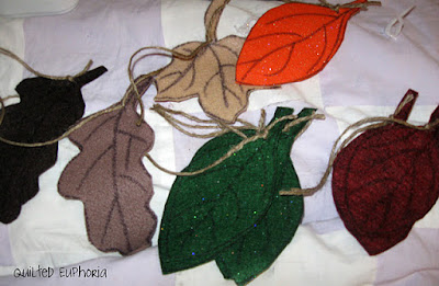 Kinds of Felt Leaves for House Designs