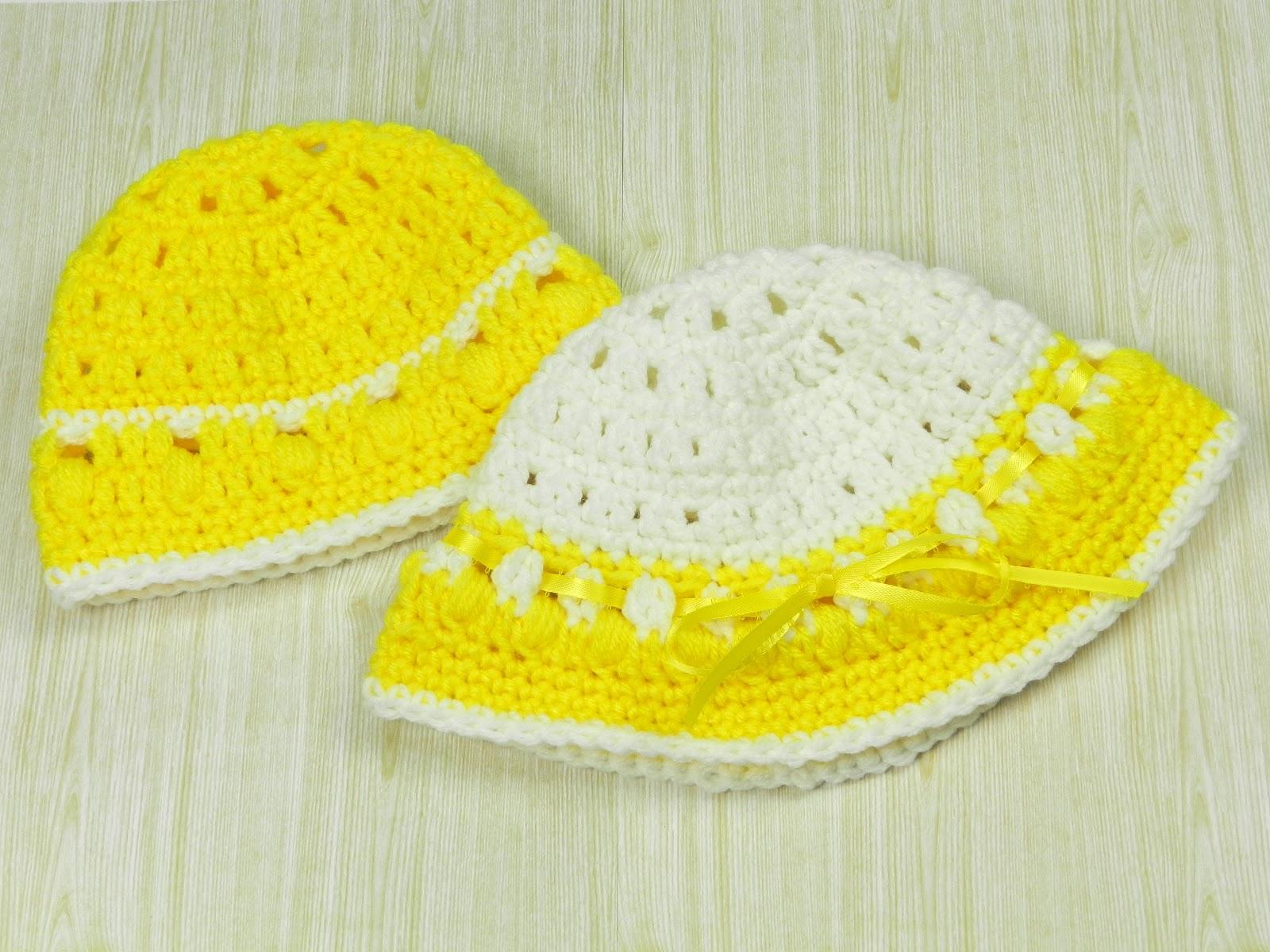 Beanie Hat Crochet Pattern With Brims Crochet Baby Beanie Hat as