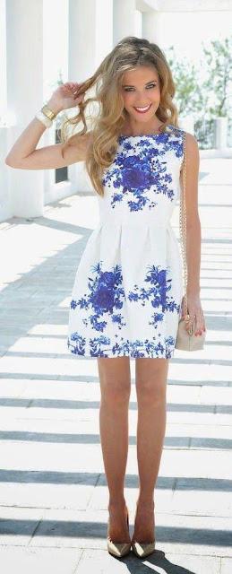 5 FLORAL PRINT SUMMER DRESSES
