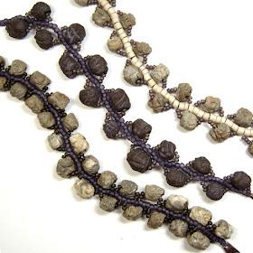Blob Bead Bracelets