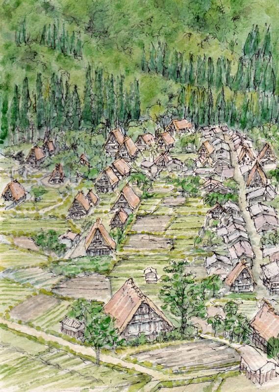 白川郷・五箇山の合掌造り集落の画像 p1_37