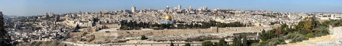 Vista Panorâmica de Jerusalém