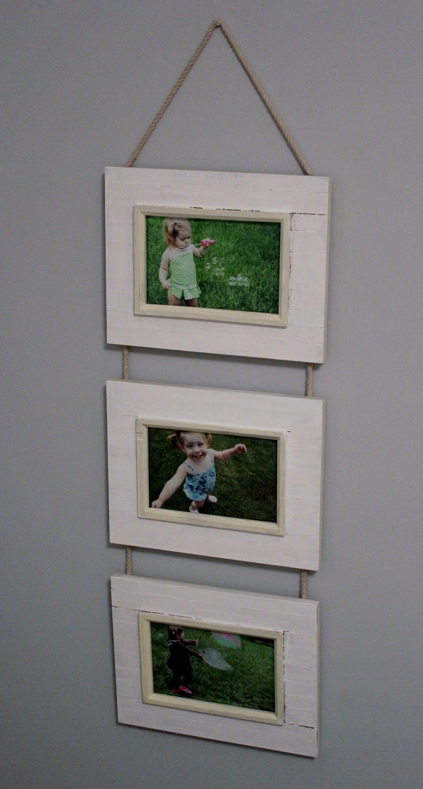 The Princess of Projects: Dollar store hanging frame!