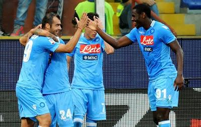 Xem lại đầy đủ trận Napoli vs Udinese