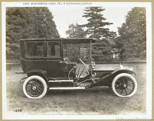 1911 Oldsmobile Model 27, 6 cylinders, Limited