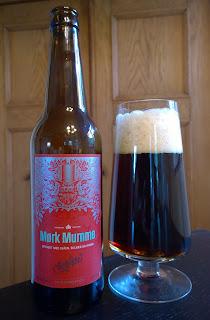 Mørk Mumme øl fra Schiøtz