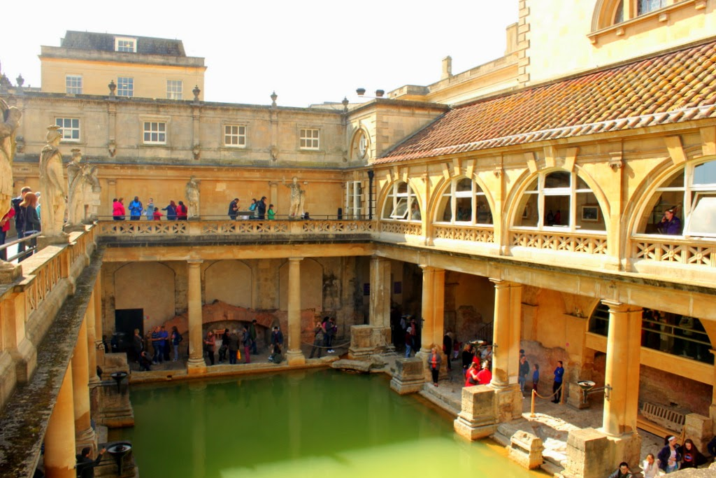 Roman Baths in Bath, UK