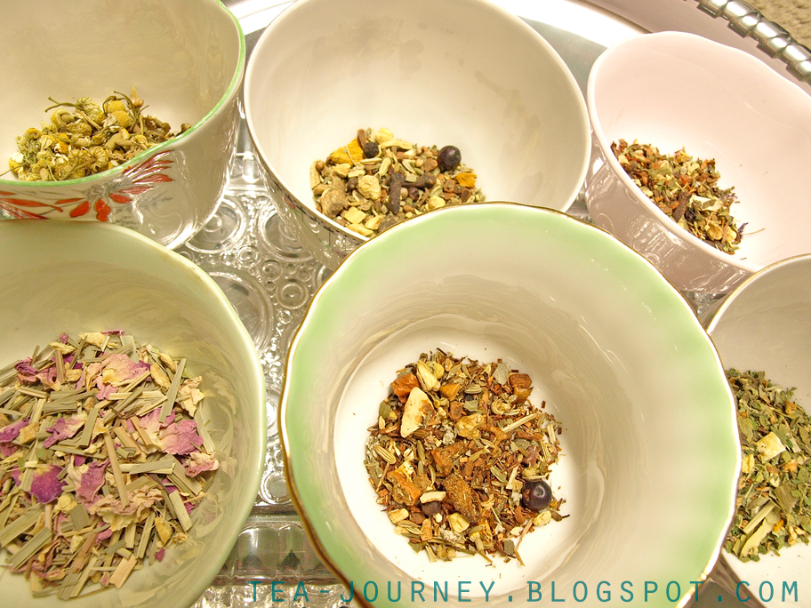 Steeped tea Detox collection Canada herbal Tea Journey