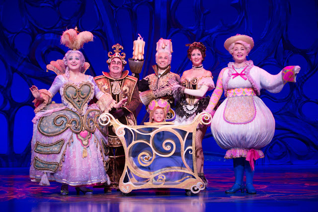 beauty and the beast on tour at the Keller Auditorium #broadwayinportland