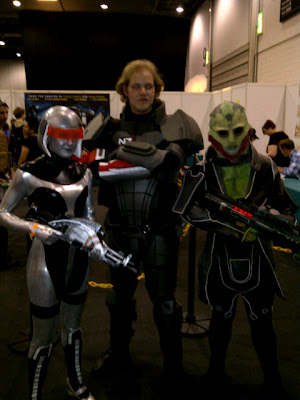 EDI cosplay Mass Effect 3
