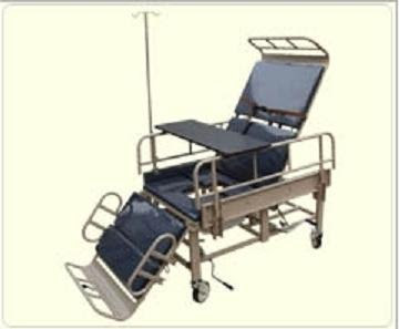 Katil hospital kerusi roda 可转換医院床轮椅 Convertible hospital bed wheelchair