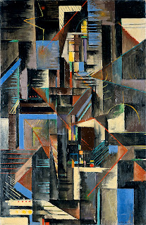 Max Weber, New York at Night