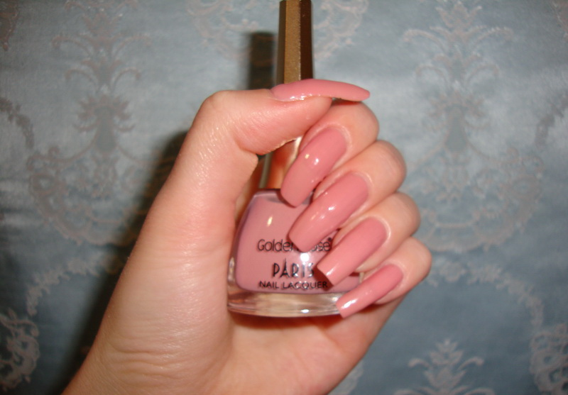 Golden Rose, Nail Polish, Nails, Paris Nail Lacquer, Reviews