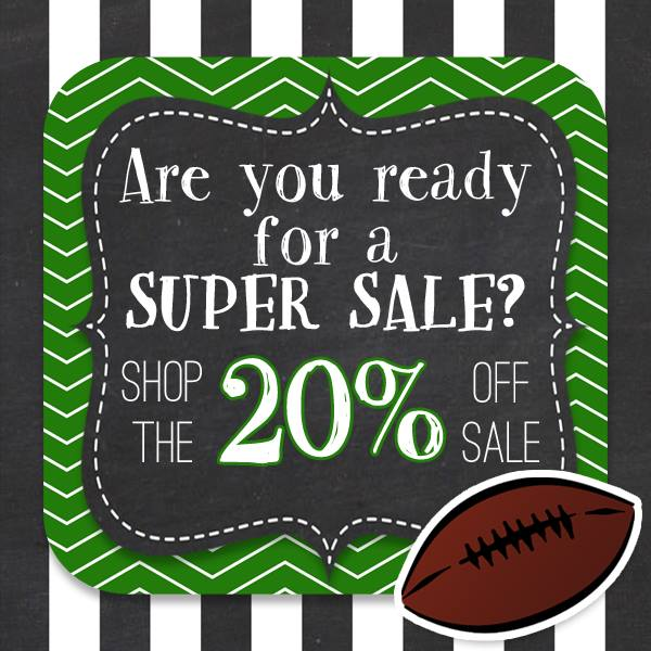 20% Off Fern Smith's Entire TPT Store - A Super Bowl Sale!