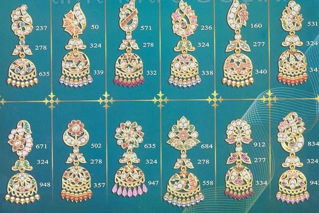 Rajputi earrings Design