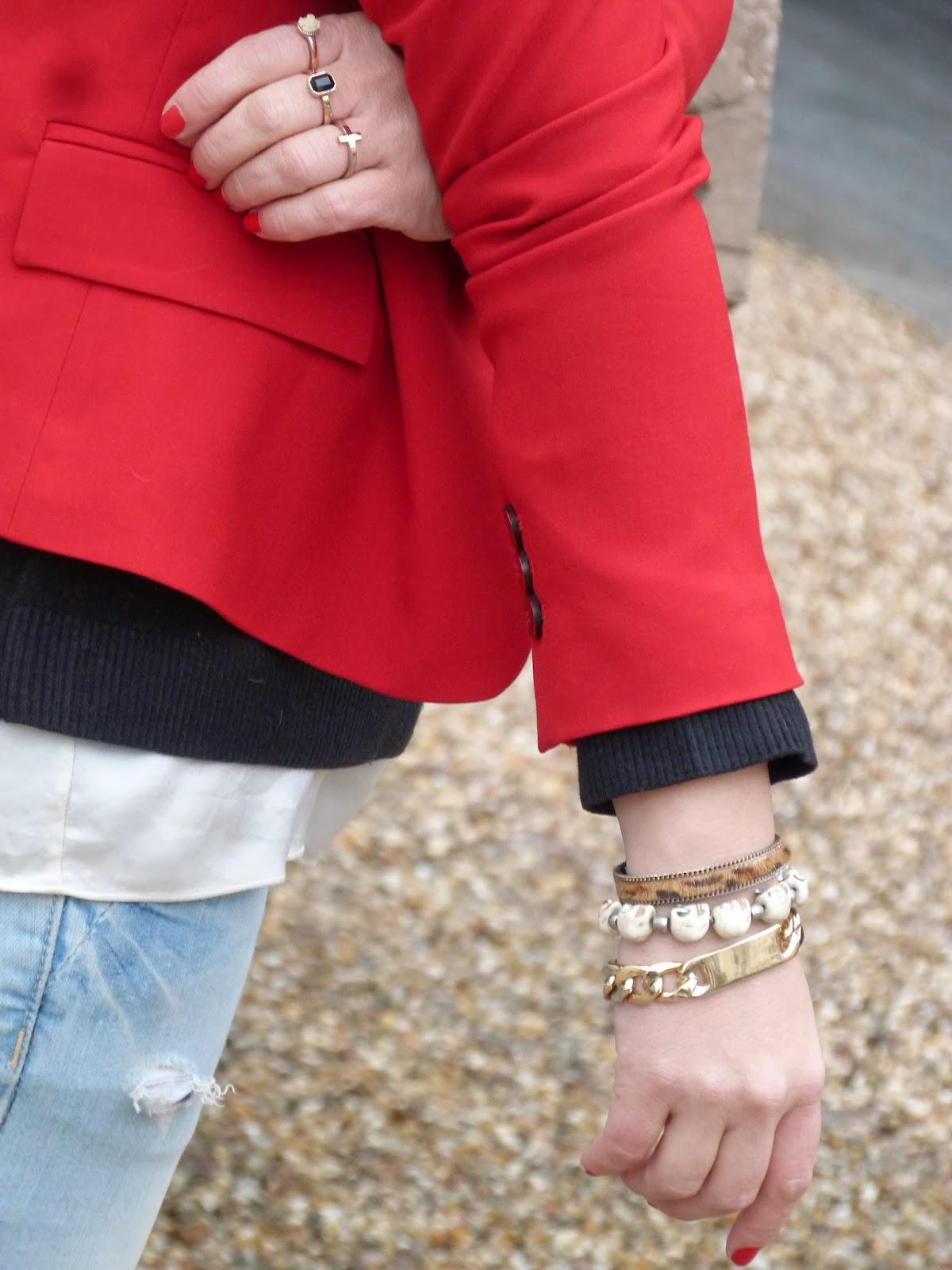 blazer roja 7